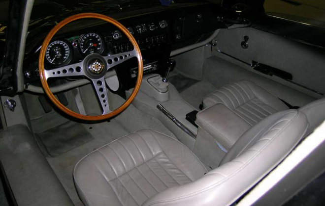 1968 Jaguar XKE E-type Series 1.5 Grey interior image (1).png