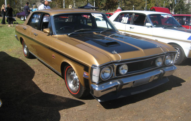 1969 - 1970 Grecian Gold Metallic paint XW Ford Falcon GT HO.png