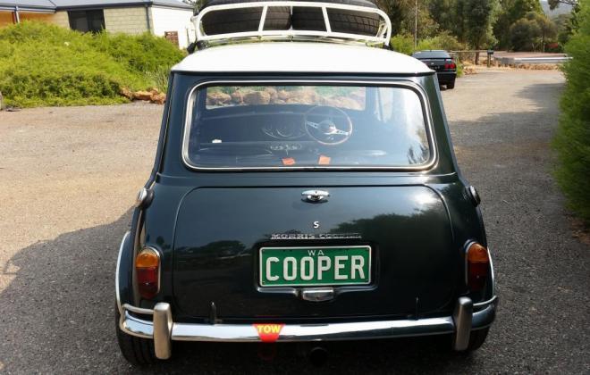 1969 Morris Mini Cooper S MK2 Australia GTO Green Crystal White (6).jpg
