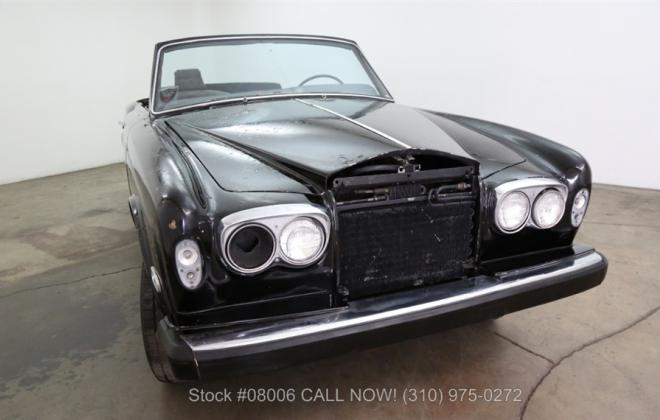 1969 Rolls Royce Corniche convertible unrestored black paint images (2).jpg