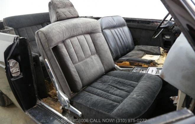 1969 Rolls Royce Corniche convertible unrestored black paint images (22).jpg