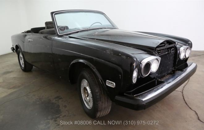 1969 Rolls Royce Corniche convertible unrestored black paint images (3).jpg
