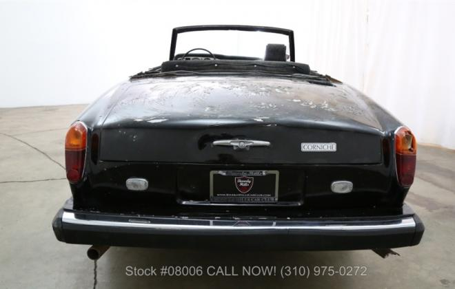 1969 Rolls Royce Corniche convertible unrestored black paint images (6).jpg