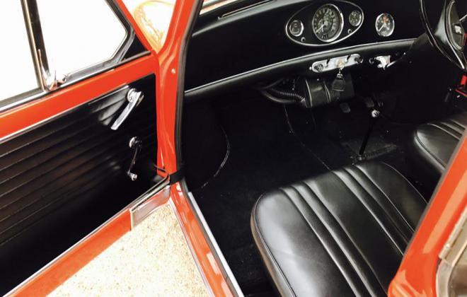 1970 Australian MK2 Morris Cooper S Classic Register Jet Red with white roof images (16).jpg