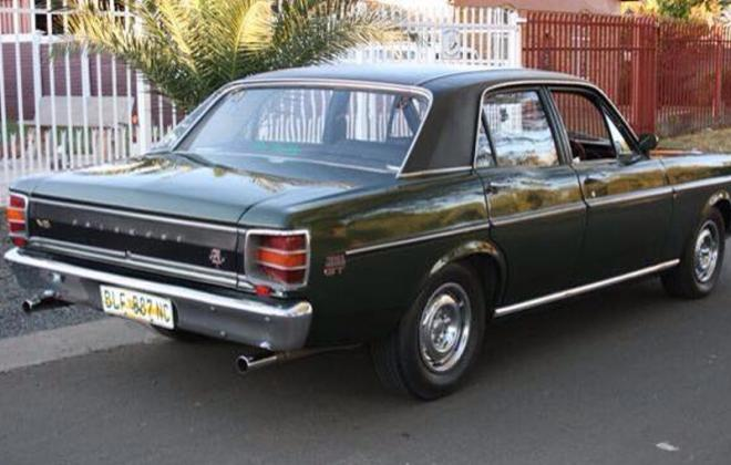 1970 XW Fairmont GT Green South Africa.jpg