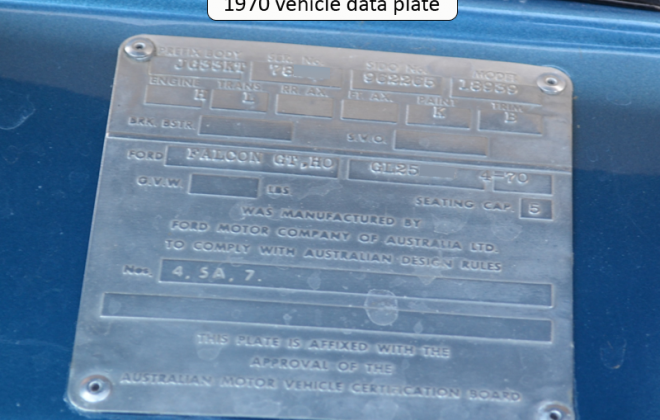 1970 XW Falcon GT vehicle data data plate codes image.png