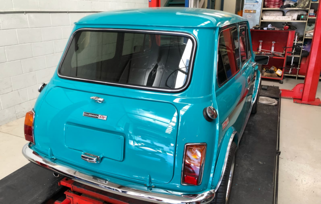 1972 Gambier Turquoise Mini Clubman GT Australia restoration images (16).png