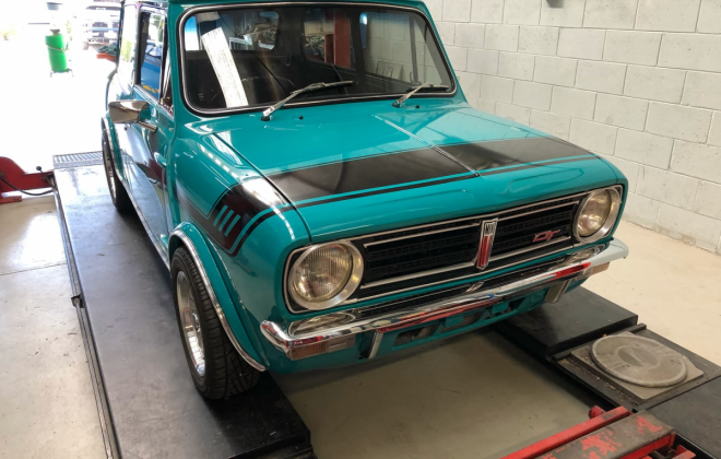1972 Gambier Turquoise Mini Clubman GT Australia restoration images (3).png