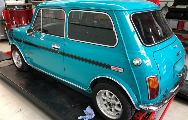1972 Gambier Turquoise Mini Clubman GT Australia restoration images (5).png