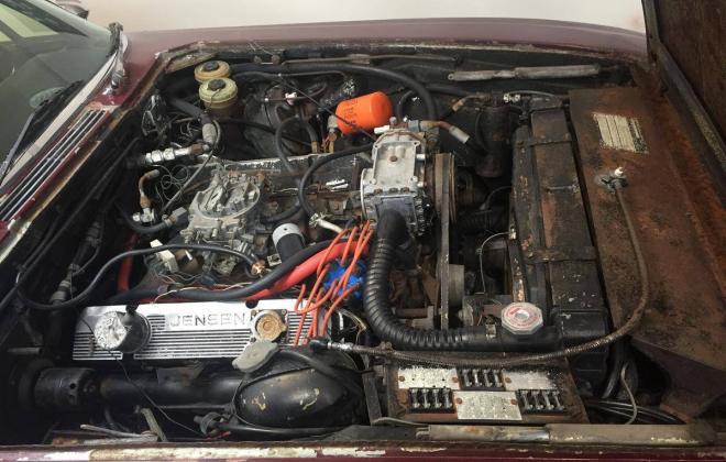 1972 MK3 Jensen Interceptor coupe in Regal Red unrestored images (26).jpg
