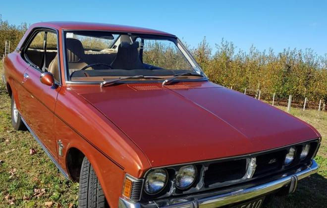 1972 Mitsubishi Galant NZ hardtop coupe brown classic (1).jpg