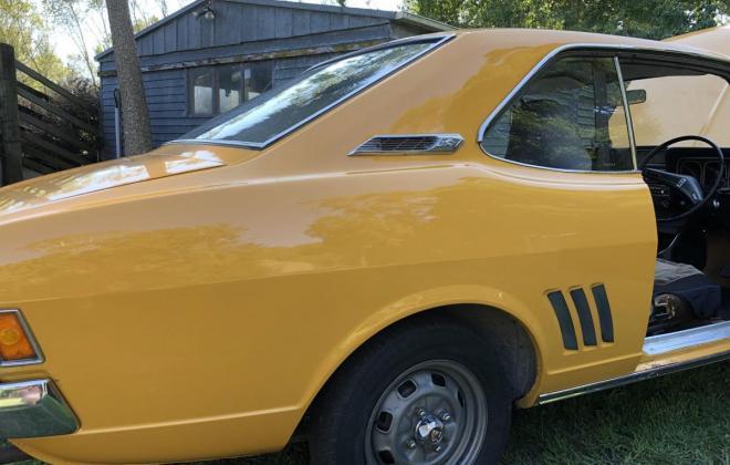 1973 Mitsubishi Galant Coupe yellow NZ (12).jpg