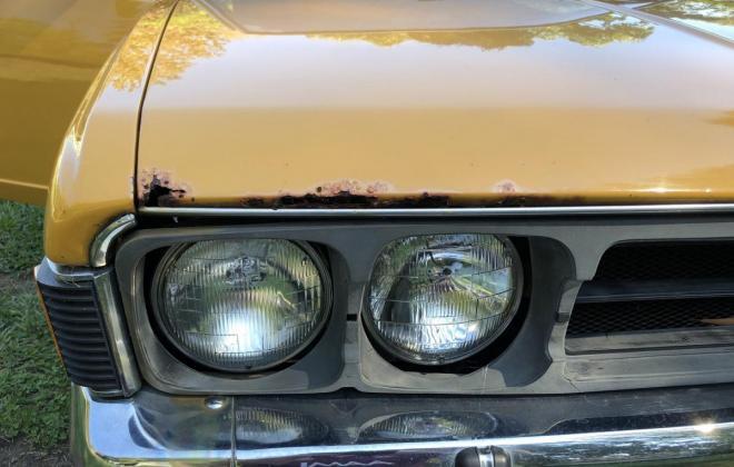 1973 Mitsubishi Galant Coupe yellow NZ (16).jpg