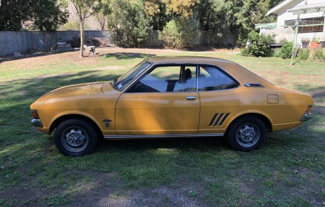 1973 Mitsubishi Galant Coupe yellow NZ (2).jpg