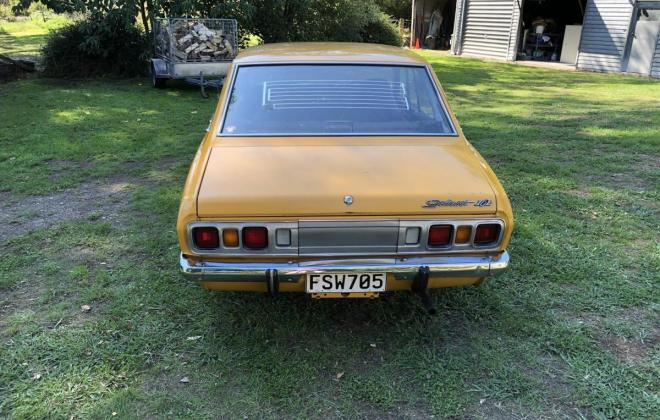 1973 Mitsubishi Galant Coupe yellow NZ (3).jpg