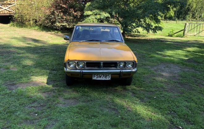 1973 Mitsubishi Galant Coupe yellow NZ (4).jpg