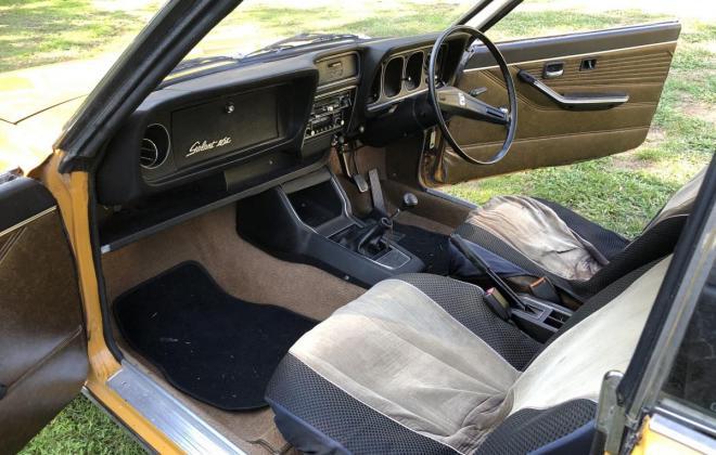 1973 Mitsubishi Galant Coupe yellow NZ (5).jpg