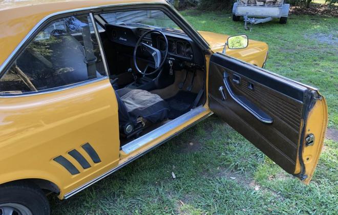 1973 Mitsubishi Galant Coupe yellow NZ (8).jpg