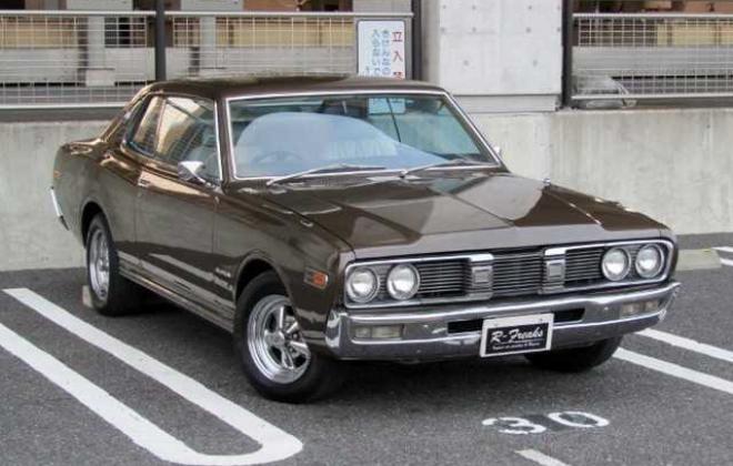 1973 Nissan Gloria 230 Series 2 door hardtop coupe images Japan 260C (1).jpg