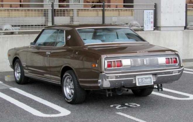 1973 Nissan Gloria 230 Series 2 door hardtop coupe images Japan 260C (2).jpg