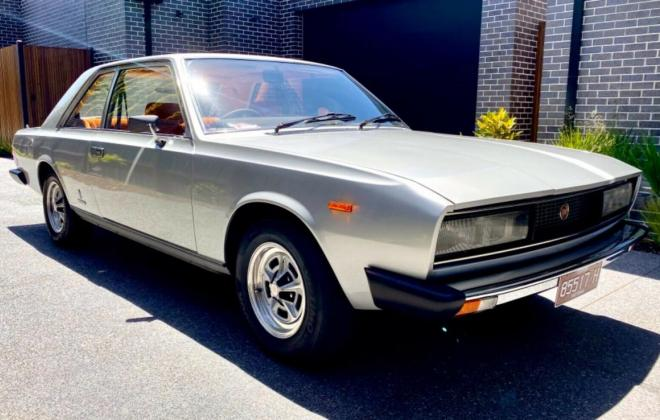 1974 Fiat 130 coupe silver Australia restored images (1).jpg