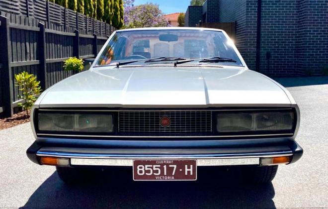 1974 Fiat 130 coupe silver Australia restored images (5).jpg