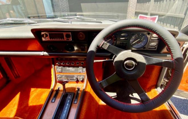 1974 Fiat 130 coupe silver Australia restored images (9).jpg