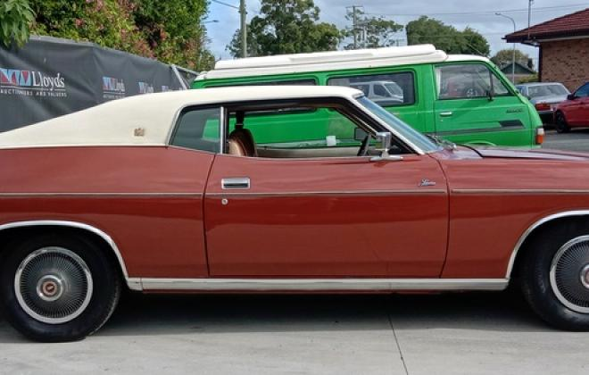 1974 Ford Landau Coupe copper bronze unrestored original Australian coupe images (3).jpg