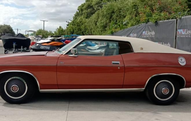 1974 Ford Landau Coupe copper bronze unrestored original Australian coupe images (4).jpg