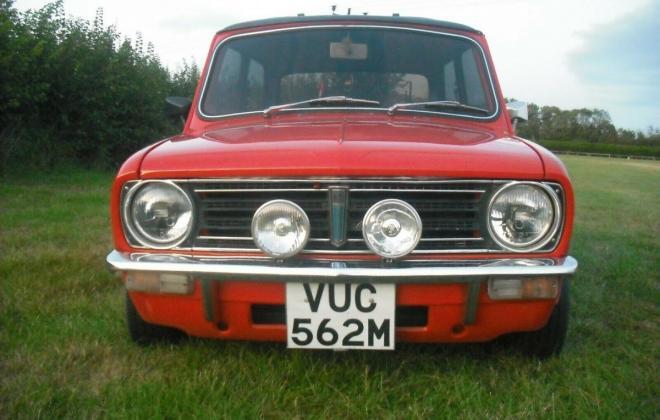 1974 Mini 1275 GT ornge UK early 10 inch wheels (1).jpg