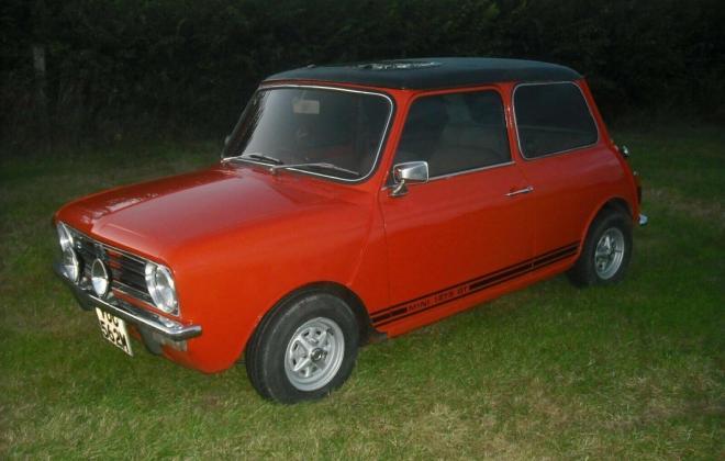 1974 Mini 1275 GT ornge UK early 10 inch wheels (4).jpg