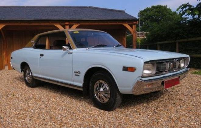 1974 original Datsun 260c 230 series coupe blue South Africa UK import (1).jpg