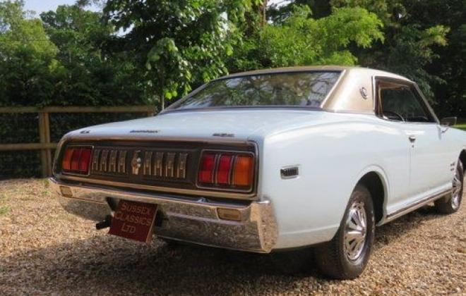 1974 original Datsun 260c 230 series coupe blue South Africa UK import (2).jpg