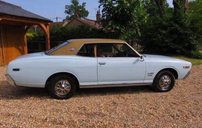 1974 original Datsun 260c 230 series coupe blue South Africa UK import (3).jpg