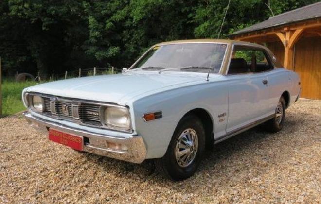 1974 original Datsun 260c 230 series coupe blue South Africa UK import (4).jpg
