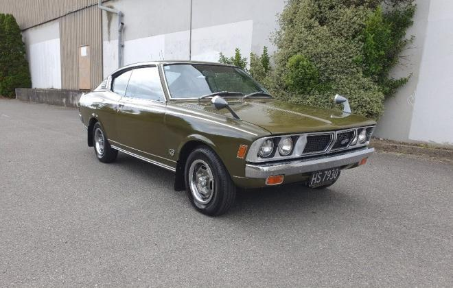 1975 Mitsubishi Galant GTO Hardtop coupe Green original located NZ (6).jpg