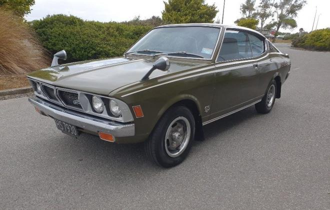 1975 Mitsubishi Galant GTO Hardtop coupe Green original located NZ (7).jpg