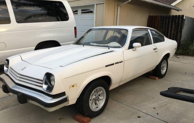 1976 Antique White Chevy Vega Cosworth unrestored images (8).jpg