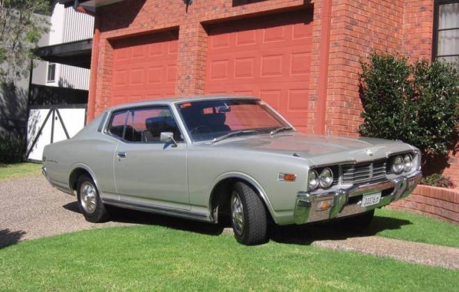 1976 Datsun 260C Coupe Silver images Australia (1).JPG