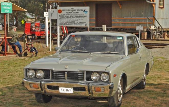 1976 Datsun 260C Coupe Silver images Australia (2).JPG