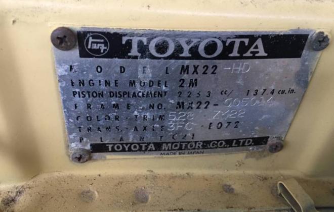 1976 Toyota Corona MKII MX22 hardtop coupe yellow images (10).JPG