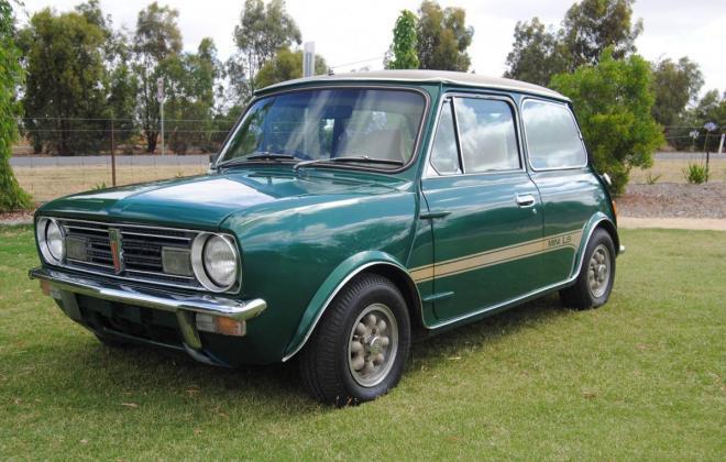 1977 Green Iridium Leyland Mini LS 998cc for sale (2).jpg