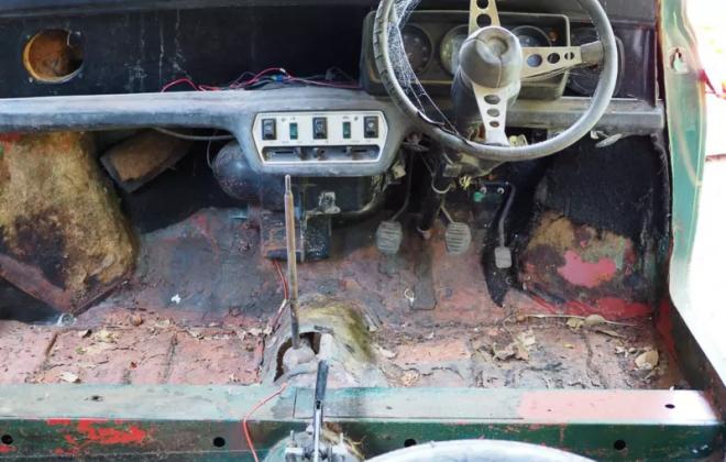 1977 Leyland Mini LS Australia 2020 Iridium Green LS (3).png