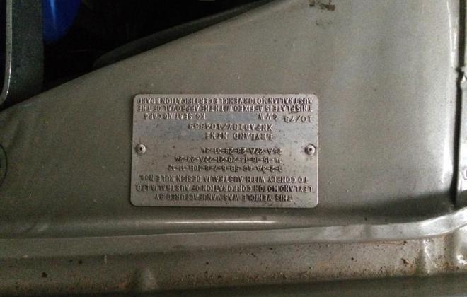 1978 1275 LS Mini engine bay pics and numbers (2).JPG