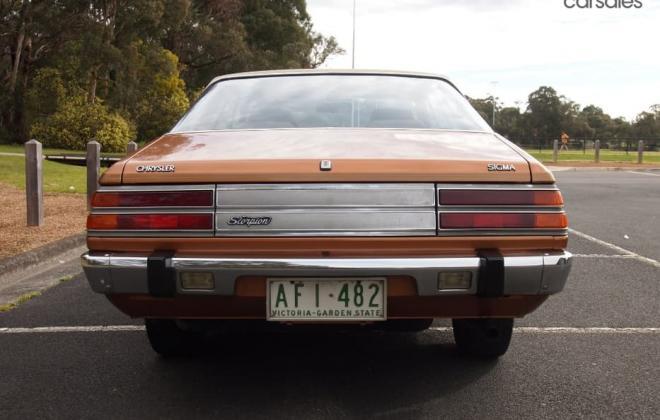1978 Chrysler Sigma Scorpion Coupe Bronze paint images fully restored Australia (3).jpg