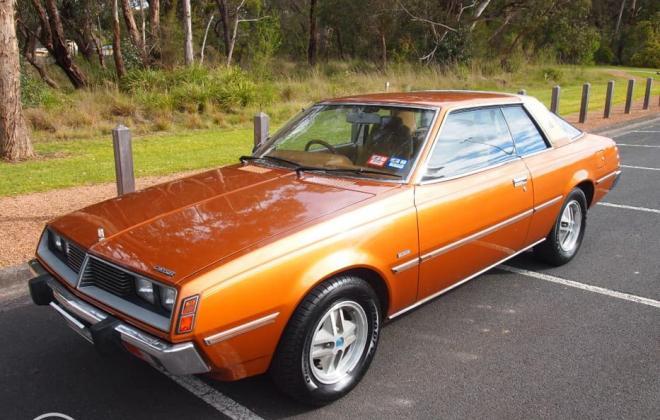 1978 Chrysler Sigma Scorpion Coupe Bronze paint images fully restored Australia (5).jpg
