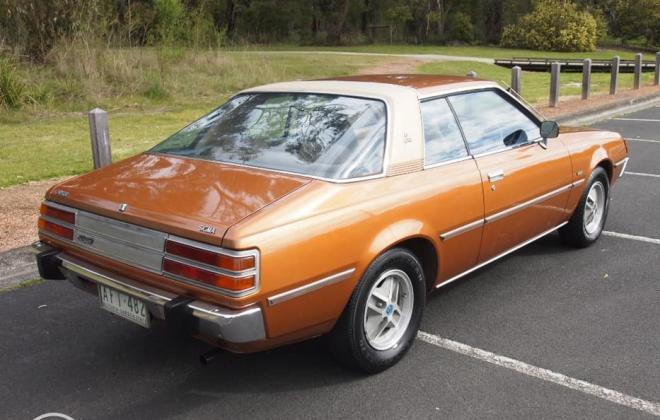 1978 Chrysler Sigma Scorpion Coupe Bronze paint images fully restored Australia (6).jpg