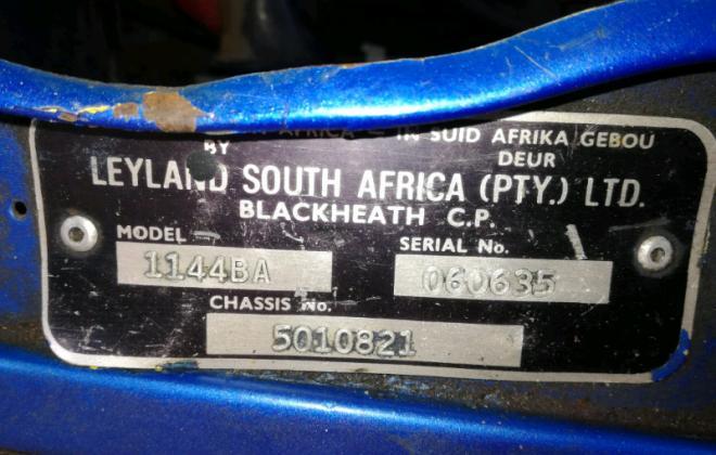 1978 Leyland Mini GTS South Africa Blue Image (1).jpg