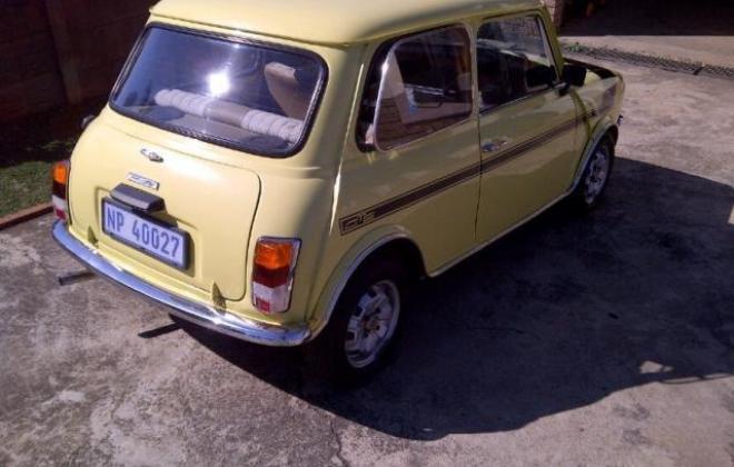 1978 Leyland Mini GTS South Africa Yellow paint black stripe (4).jpg