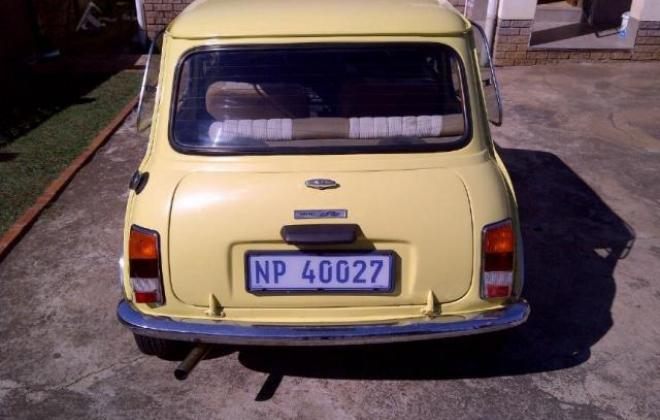 1978 Leyland Mini GTS South Africa Yellow paint black stripe (5).jpg